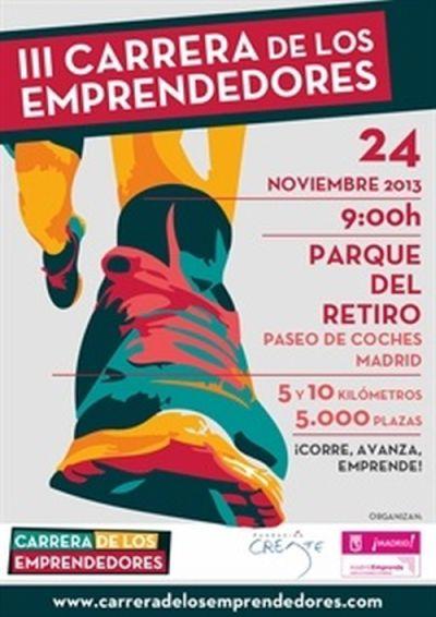 La III Carrera de los #Emprendedores te espera en Madrid el 24 de noviembre