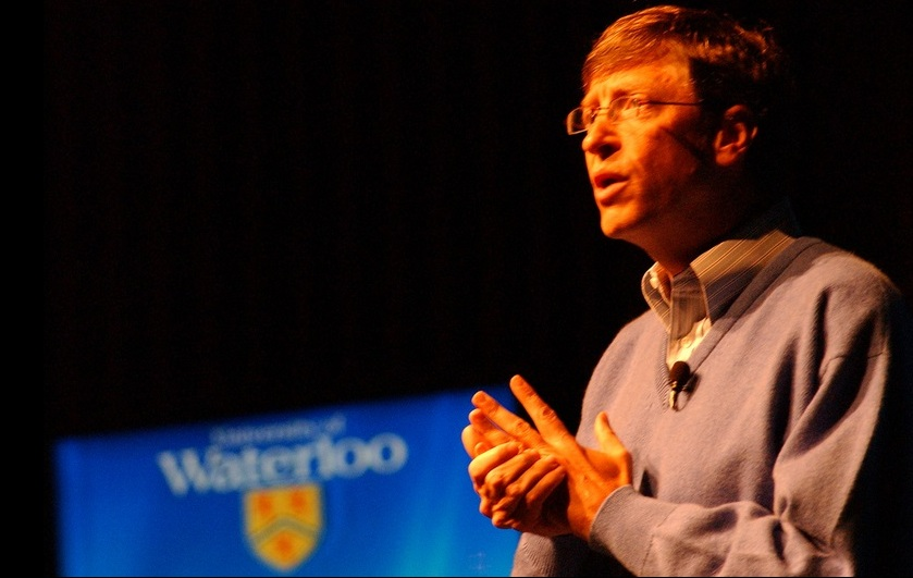 Bill Gates en la Univesidad de Waterloo Vía @batmoo