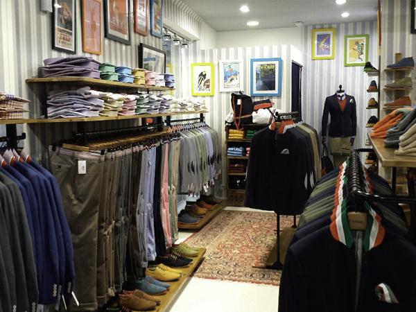 Una de las tienda de El Ganso.