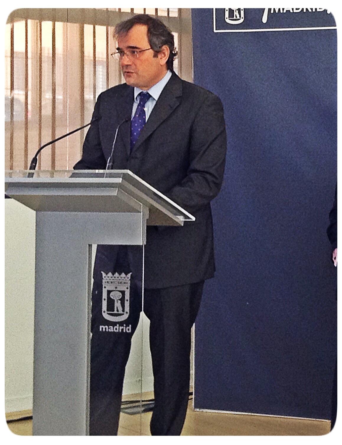 Francisco Blanco, EMPRENDIENDO en la URJC