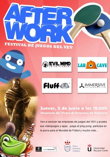 Los videojuegos, protagonistas este jueves en VEV con «Afterwork»