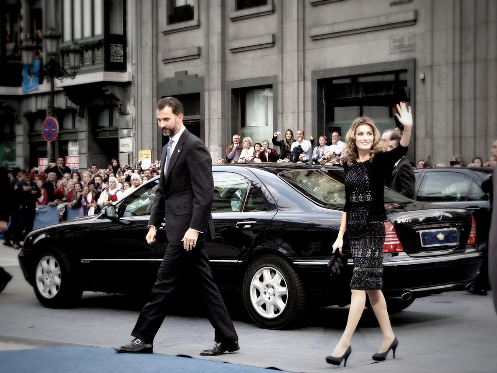 Periodistas y emprendedores se citan con el rey Felipe VI y la reina Letizia