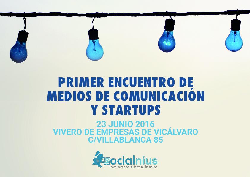 El VEV acoge el Primer Encuentro de Medios de Comunicación y startups