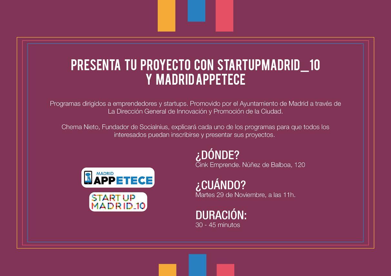 Cink emprende te explica la importancia de StartupMadrid_10 y Madrid APPetece