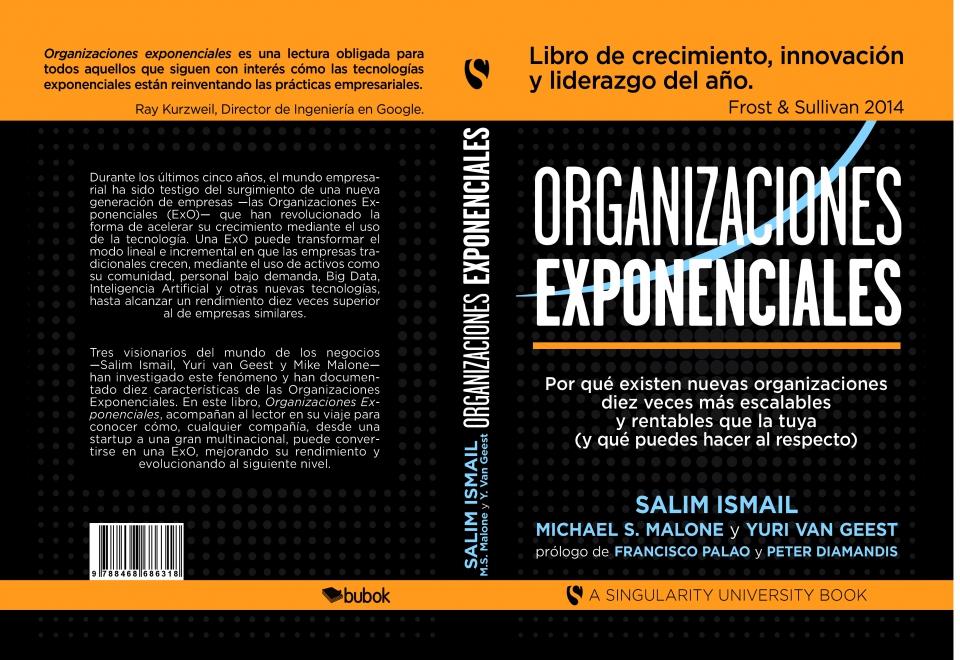 Organizaciones Exponenciales, de Salim Ismail, finalista de los premios Knowsquare