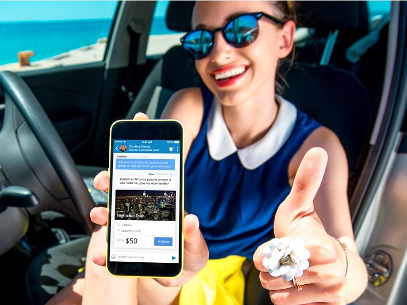 Biduzz el agente de viajes 24/7 para móvil finalista en FITUR