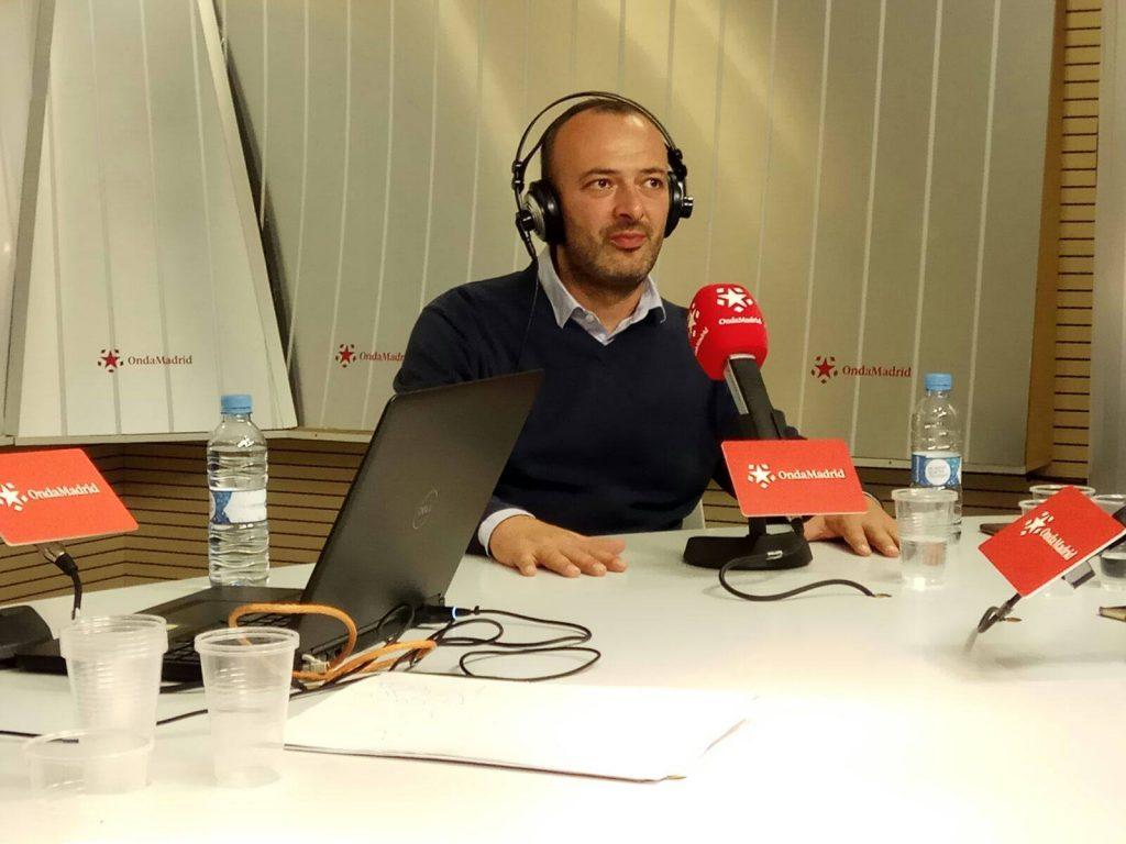 Jaime Estévez, fundador de Agoranews
