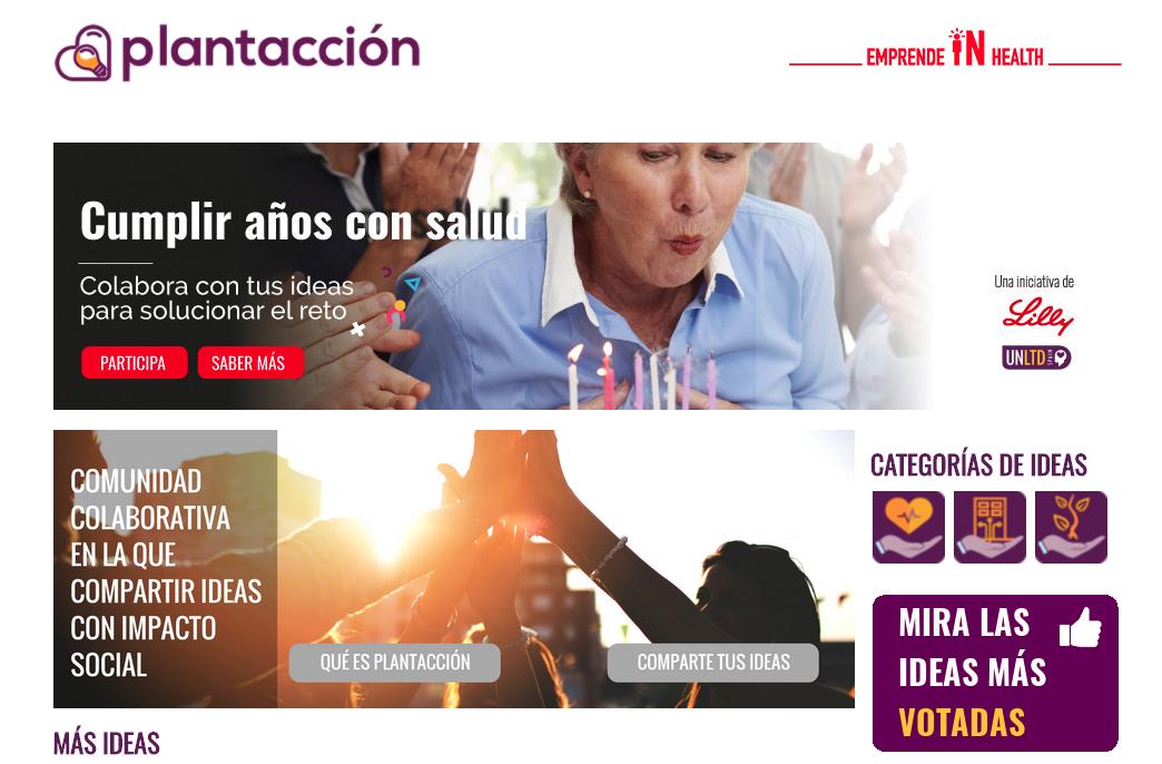 """UnLtd Spain y Lilly España lanzan el reto """"Cumplir años con salud."""