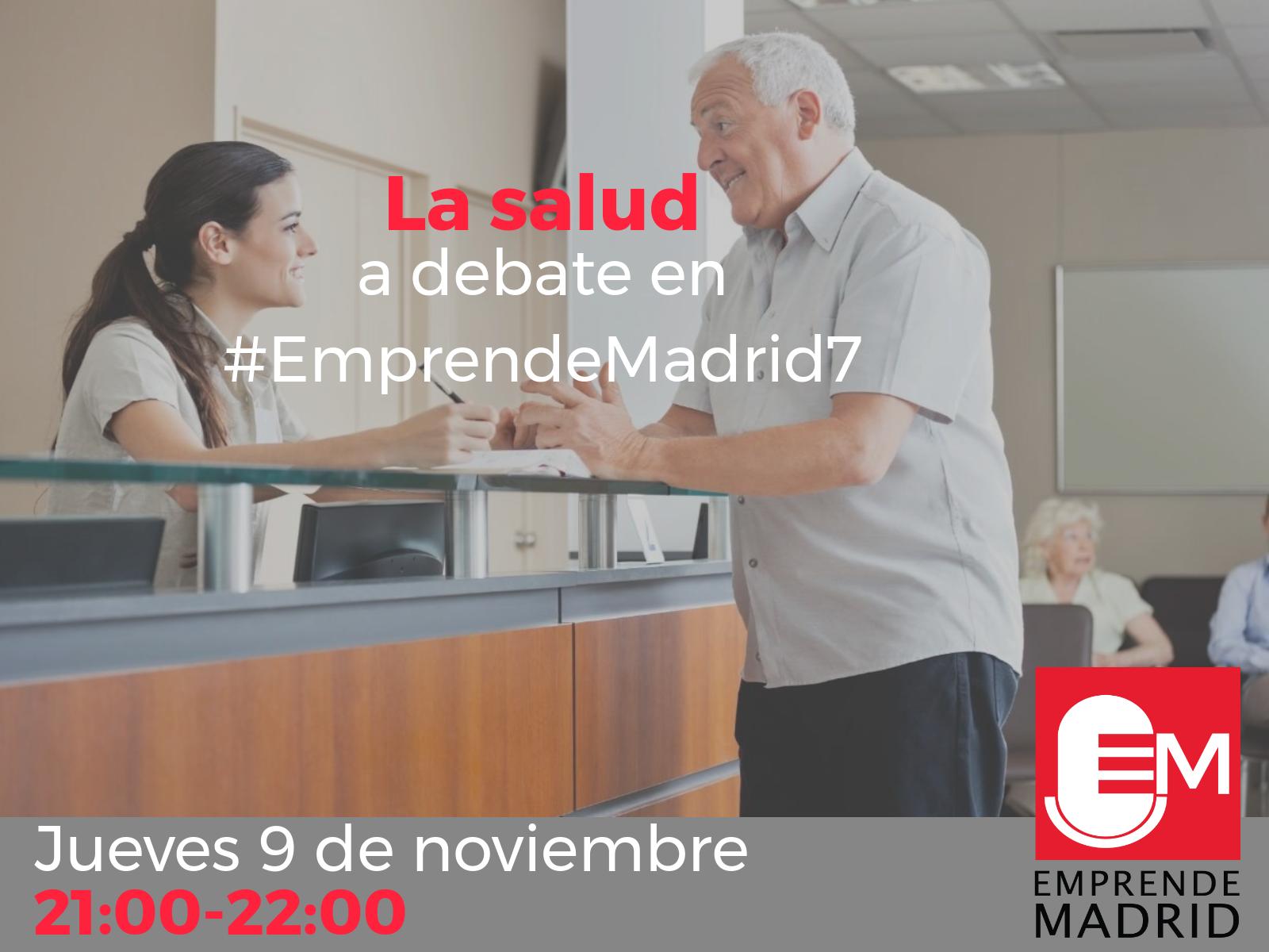 Innovación en salud en #EmprendeMadrid7