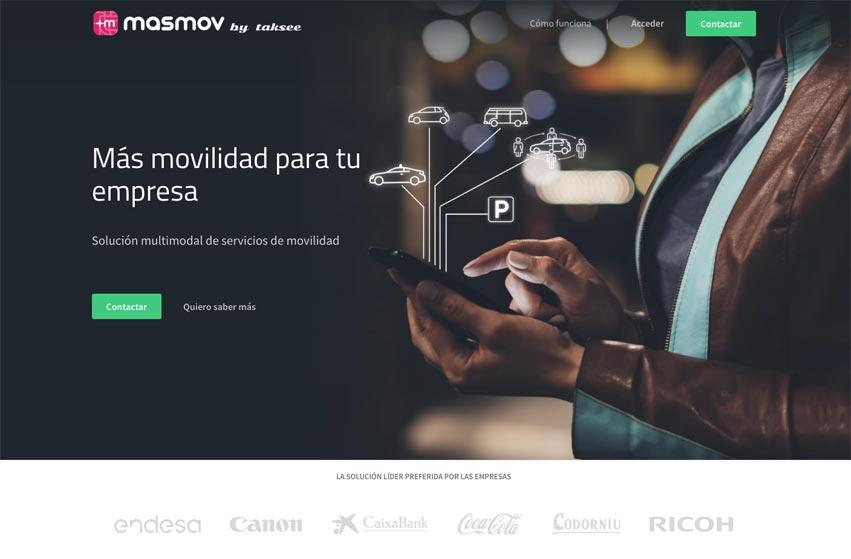 Taksee desarrolla MASMOV, el integrador de movilidad que reduce el coste de tus viajes