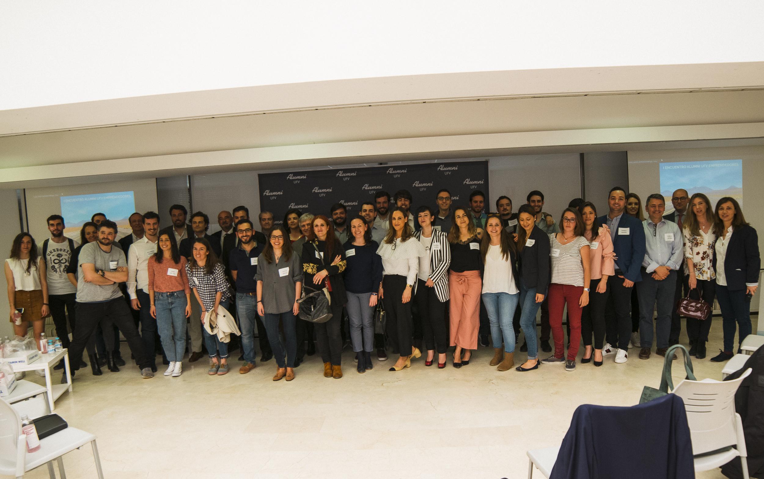 La UFV reúne a más de 50 emprendedores Alumni
