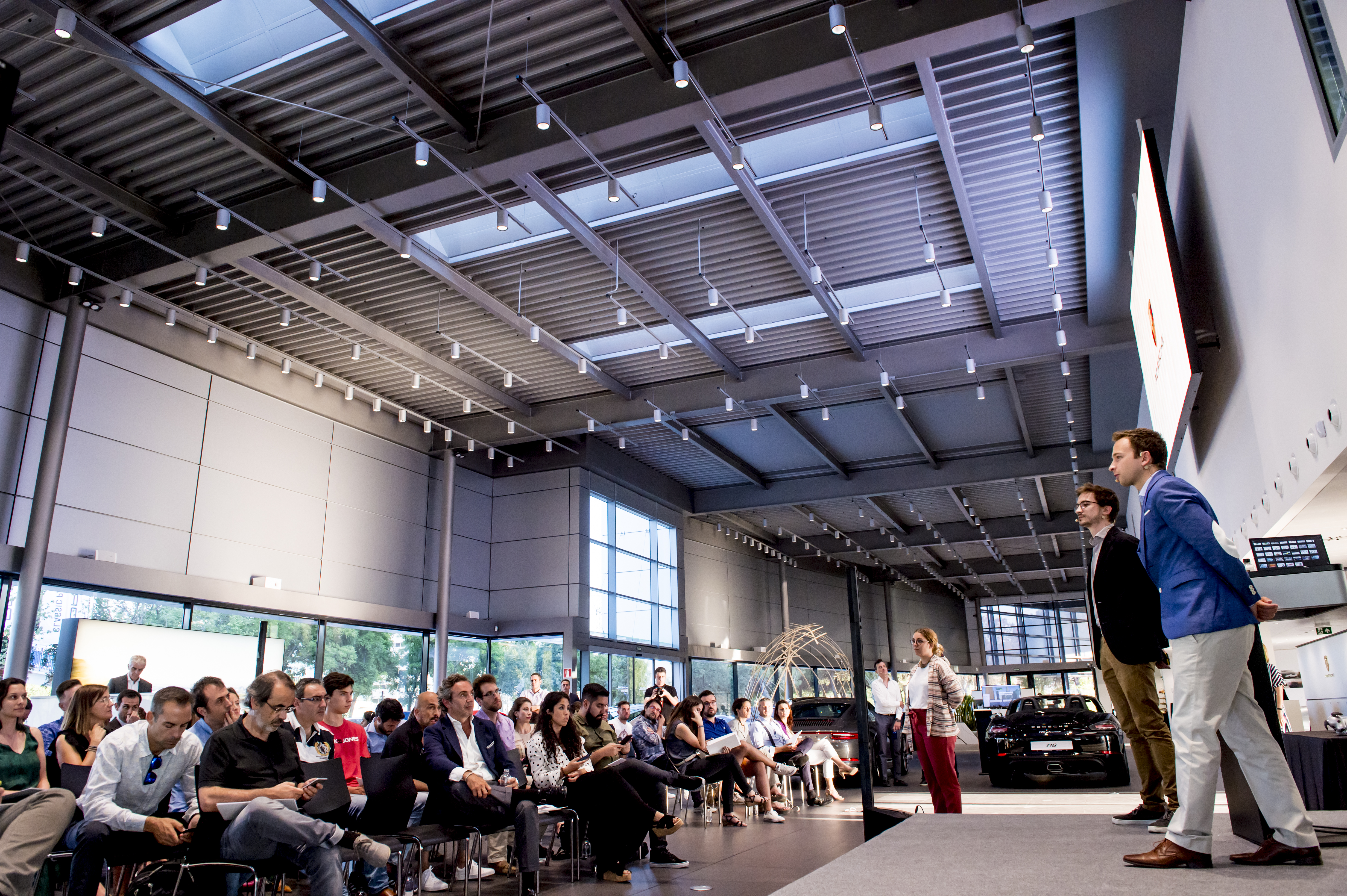 Porsche Ibérica y Conector ponen fin a su primer programa para startups con la celebración del Demo Day