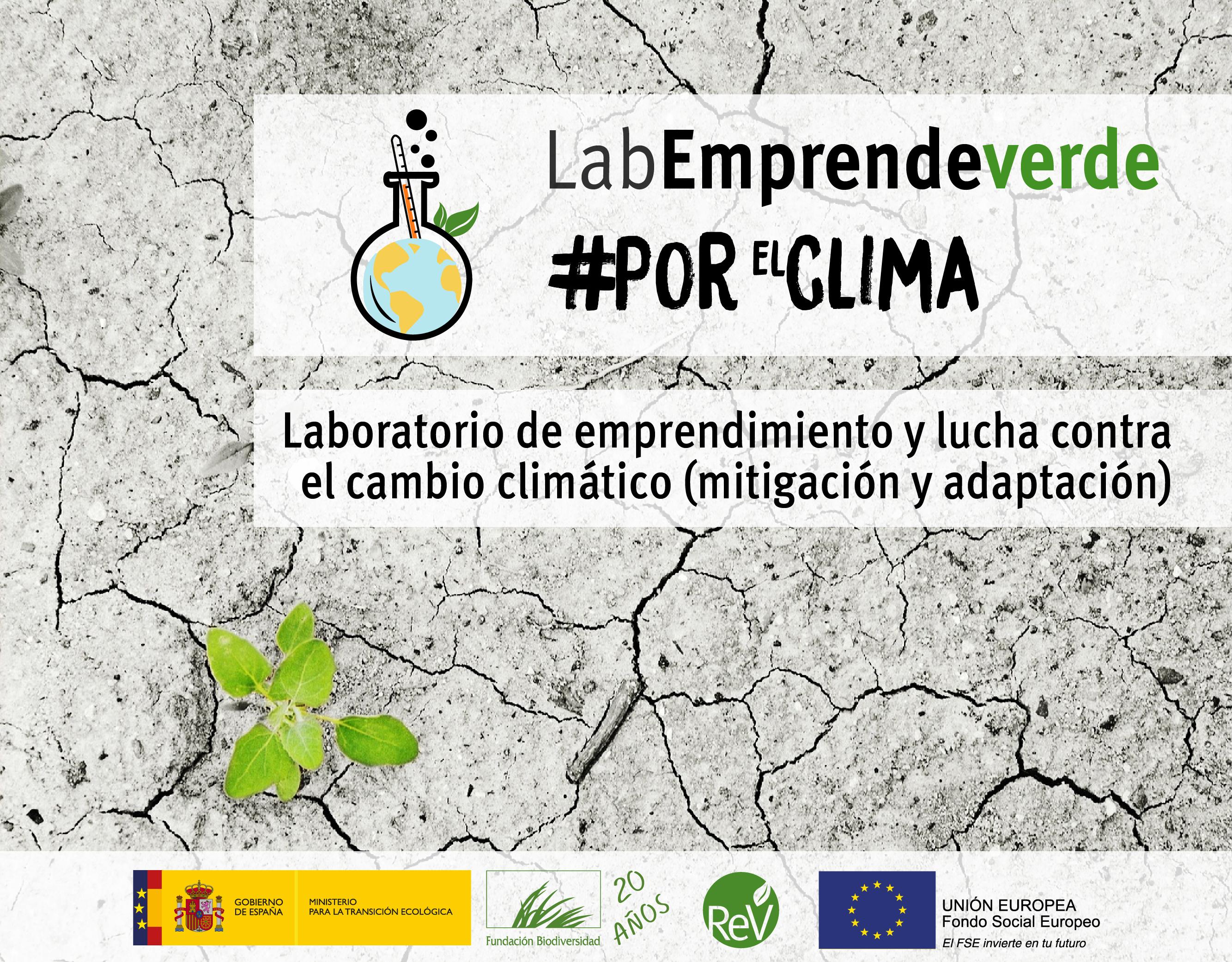 Incríbete hasta el 2 de diciembre en Lab Emprendeverde #PorElClima