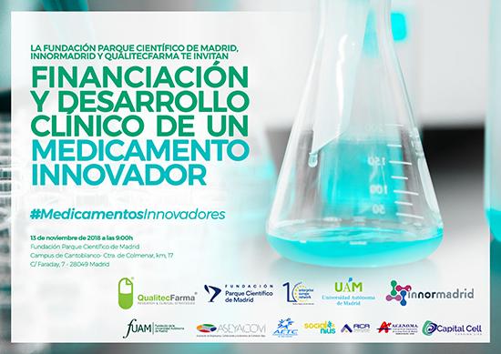 La Fundación Parque Científico de Madrid, InNorMadrid y QualitecFarma acercan la financiación a la investigación clínica