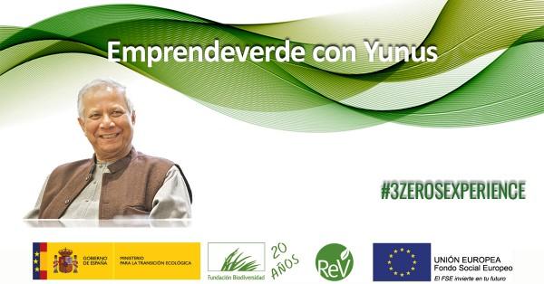 Emprende con el Premio Nobel de la Paz Muhammad Yunus