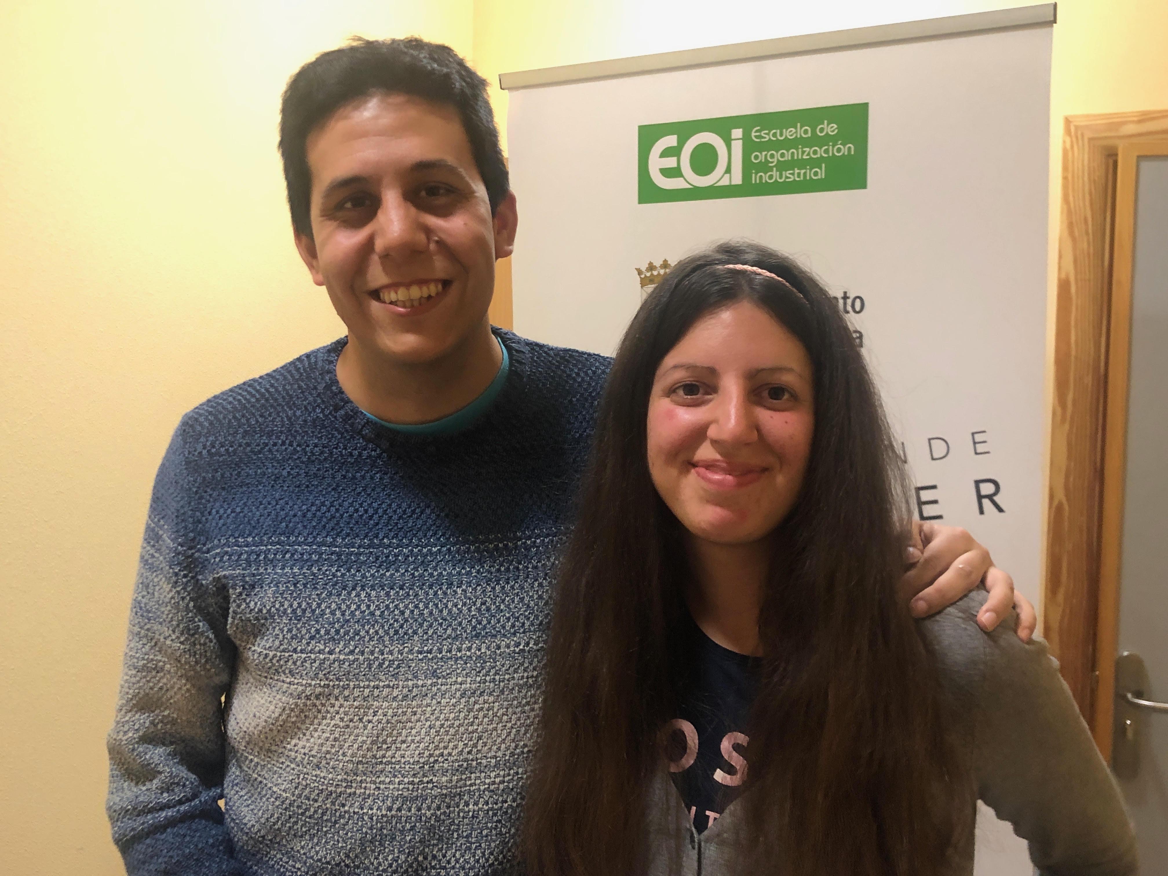 Verónica Santos y David Ramos, Talentotecnia