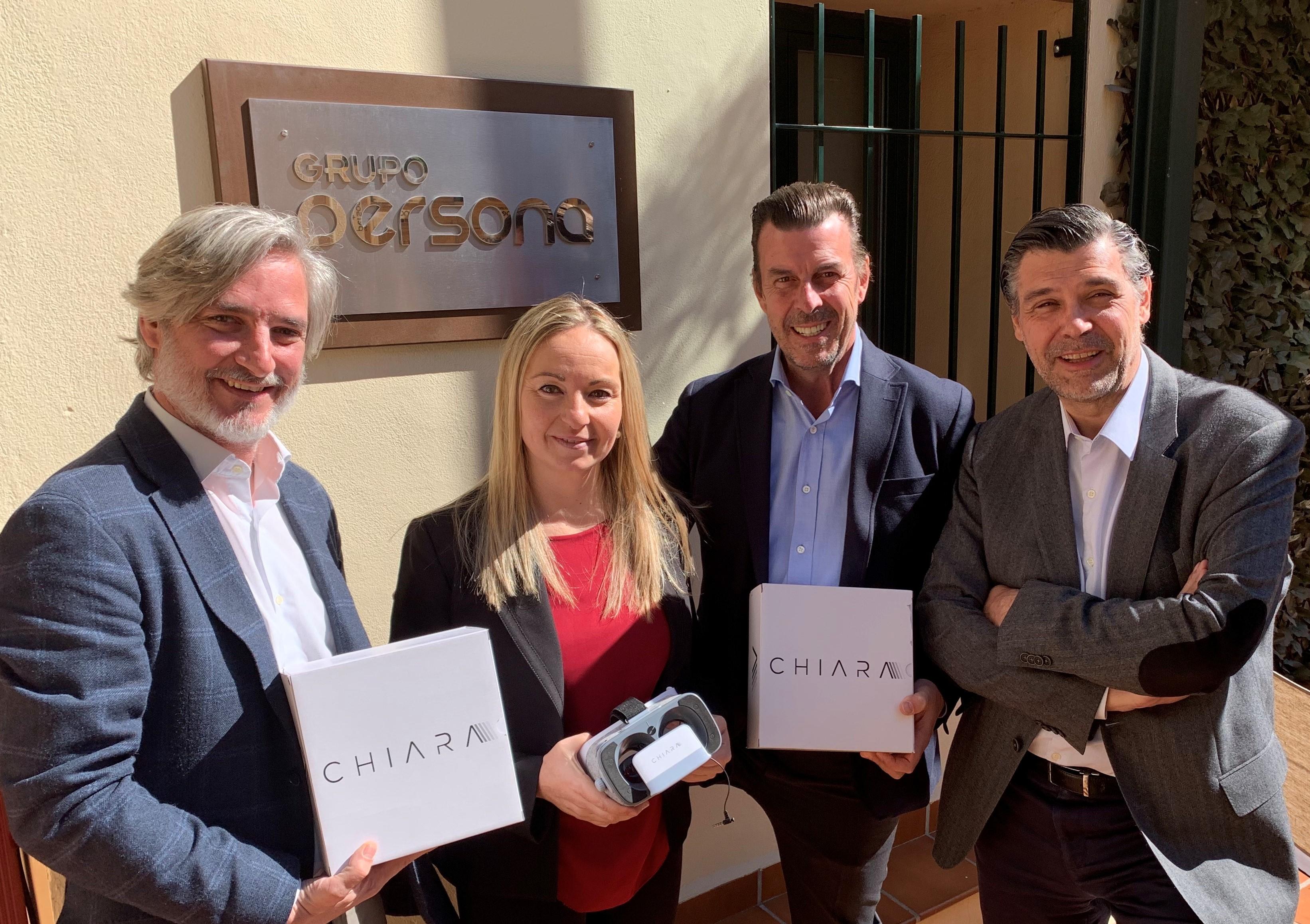 Grupo Persona apuesta por la realidad virtual de Chiara para hablar en público