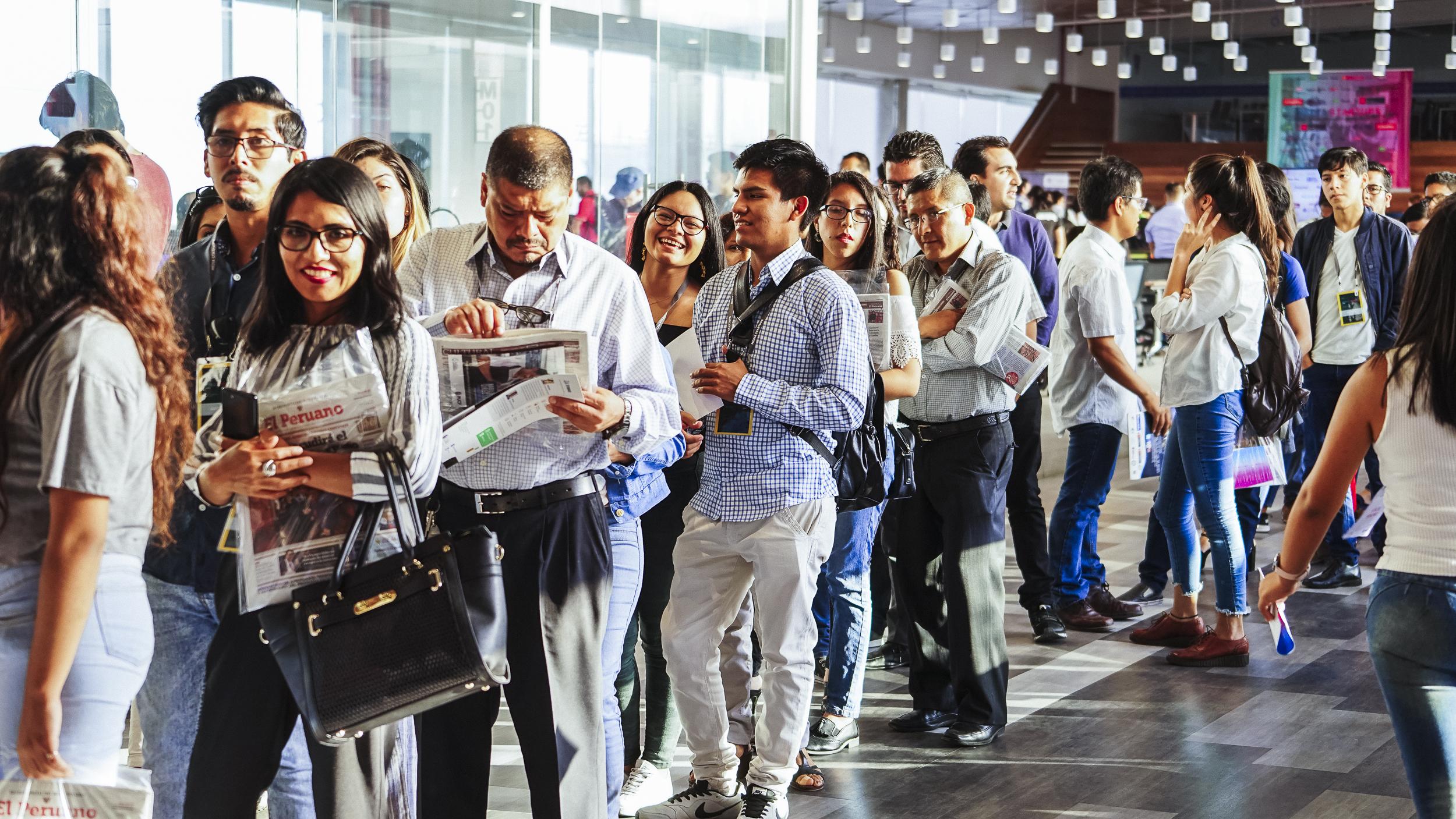 Más de 450 emprendedores abarrotan la 1º edición internacional de MediaStartups Lima