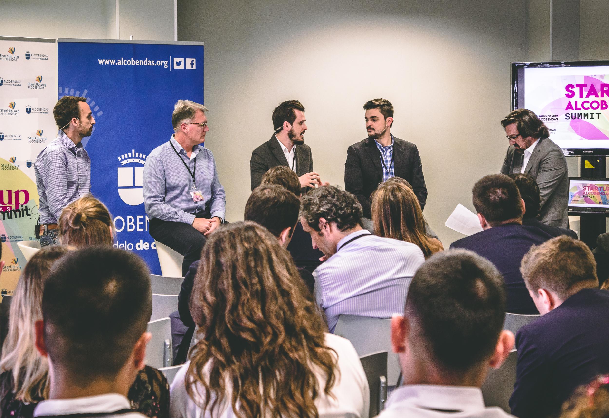 Alcobendas Startups Summit reúne en su primera edición a más de 100 personas