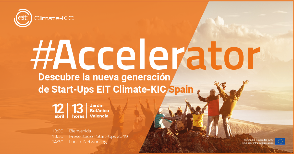 Inauguración nuevo programa de aceleración de EIT Climate-KIC StartUp #Accelerator