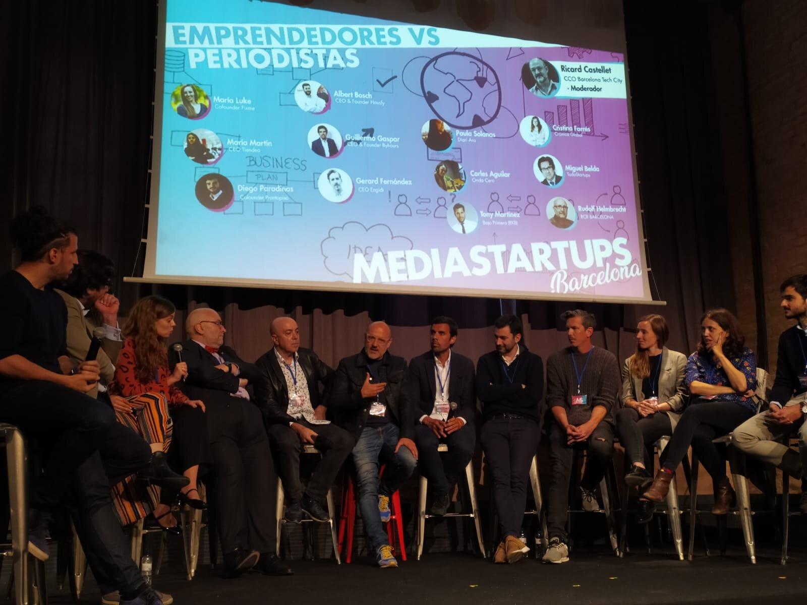 Mediastartups Barcelona celebra su primera edición con la presencia de más de 250 emprendedores