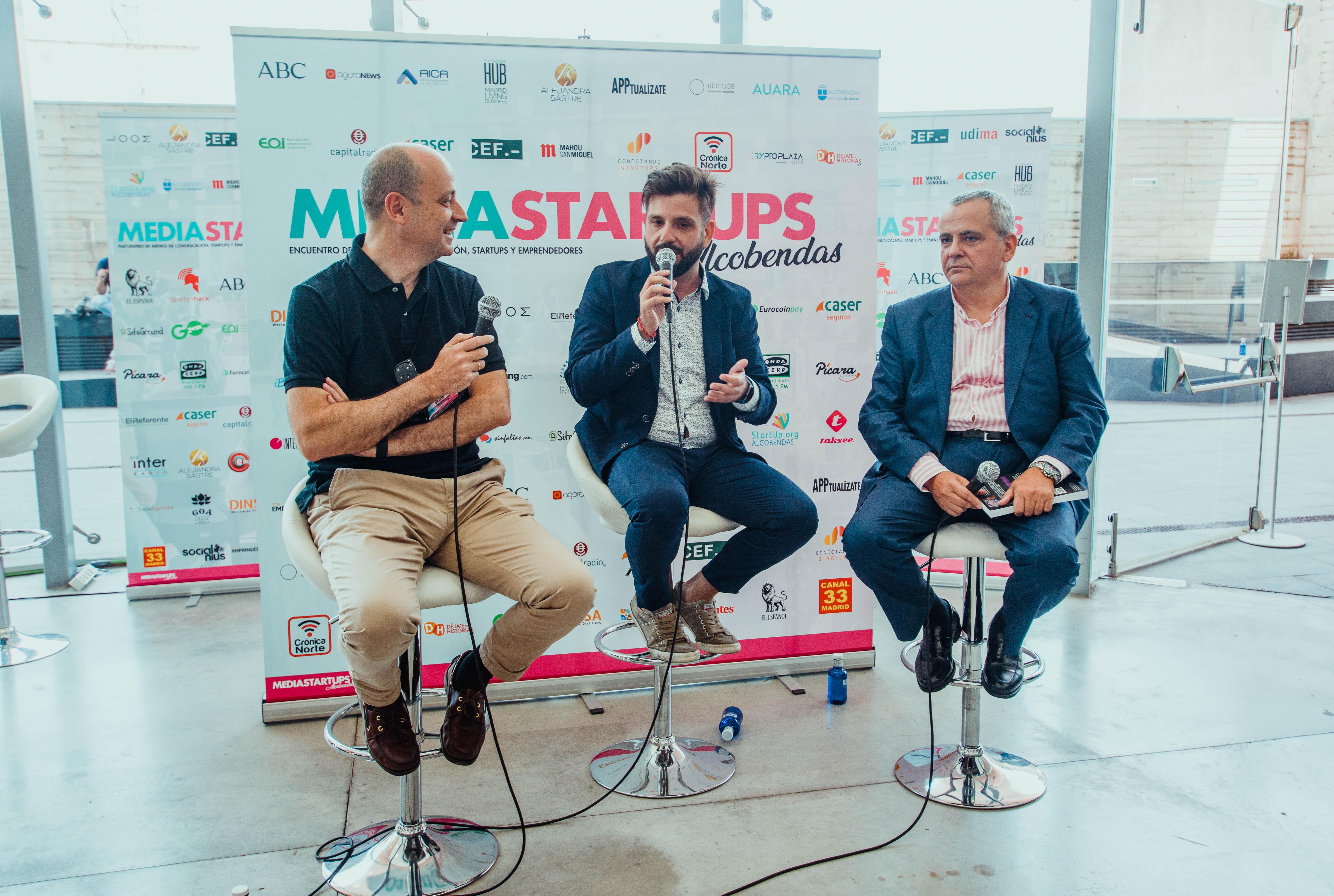 Juanma Romero y Alejandro Vesga, protagonistas de la II Edición de Mediastartups en Valencia