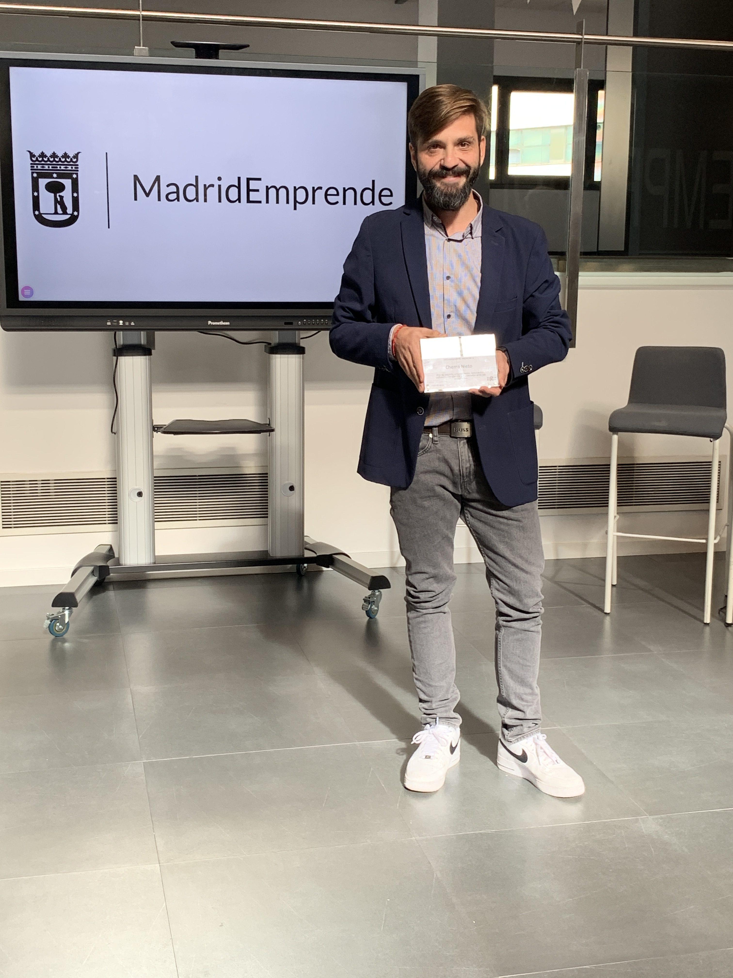 """""""Sin el apoyo de los Viveros de Empresas de Madrid Emprende hoy no sería emprendedor"""""""