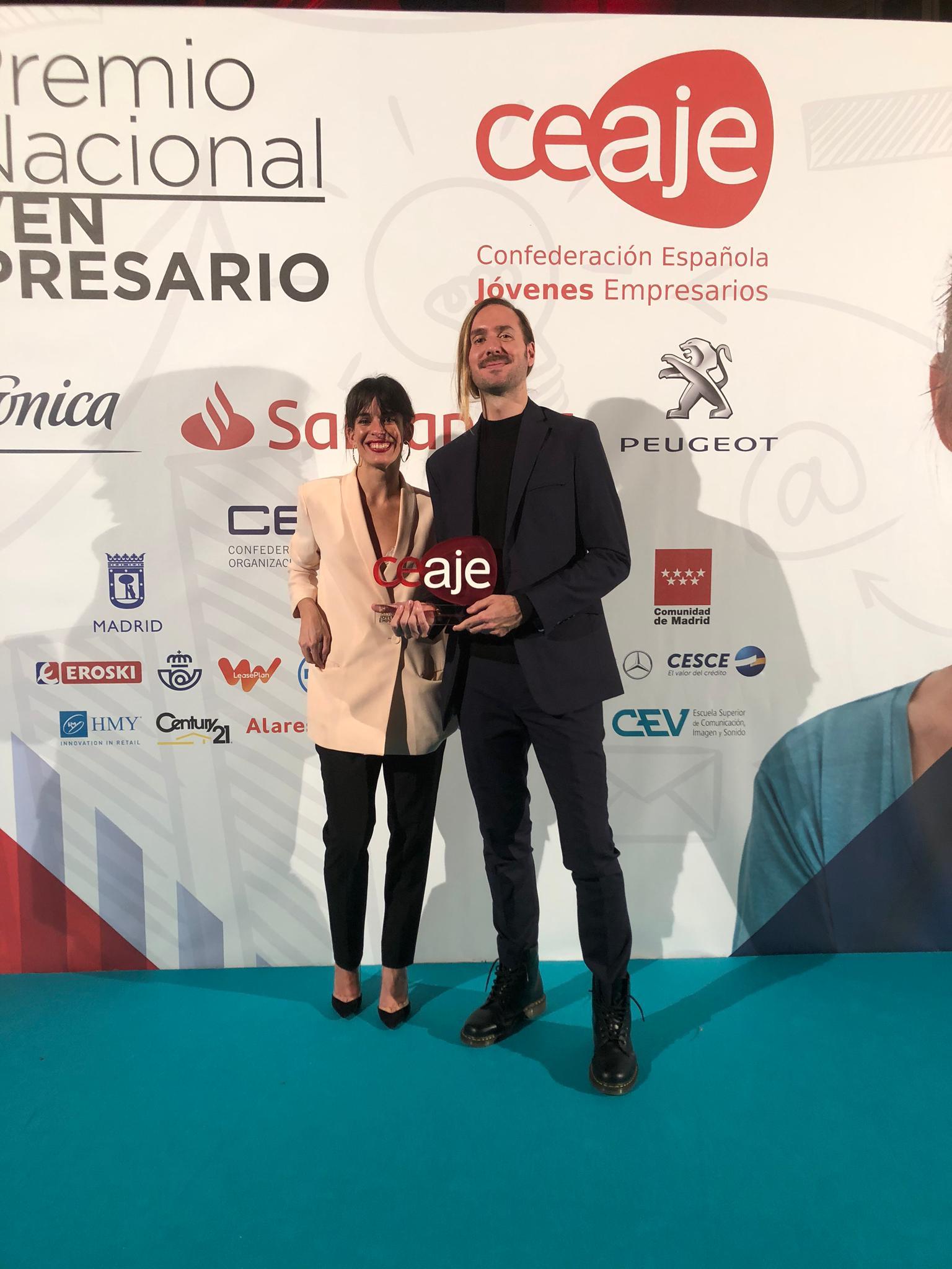 We Are Knitters gana el accésit de Internacionalización concedido por la Confederación Española de Jóvenes Empresarios