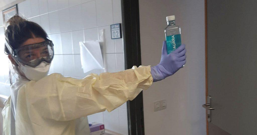 Auara contra el coronavirus