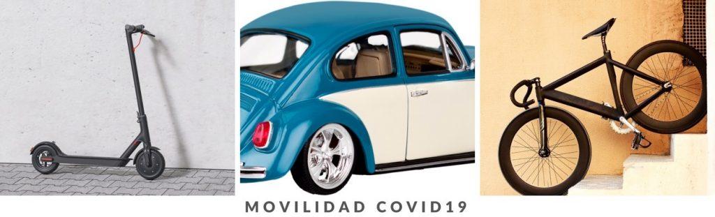 vehiculos de movilidad con el COVID