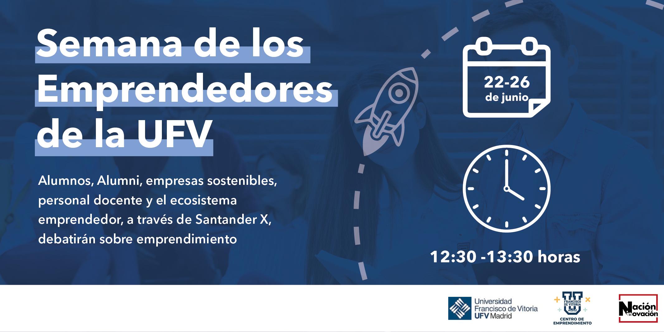 Semana de los emprendedores UFV