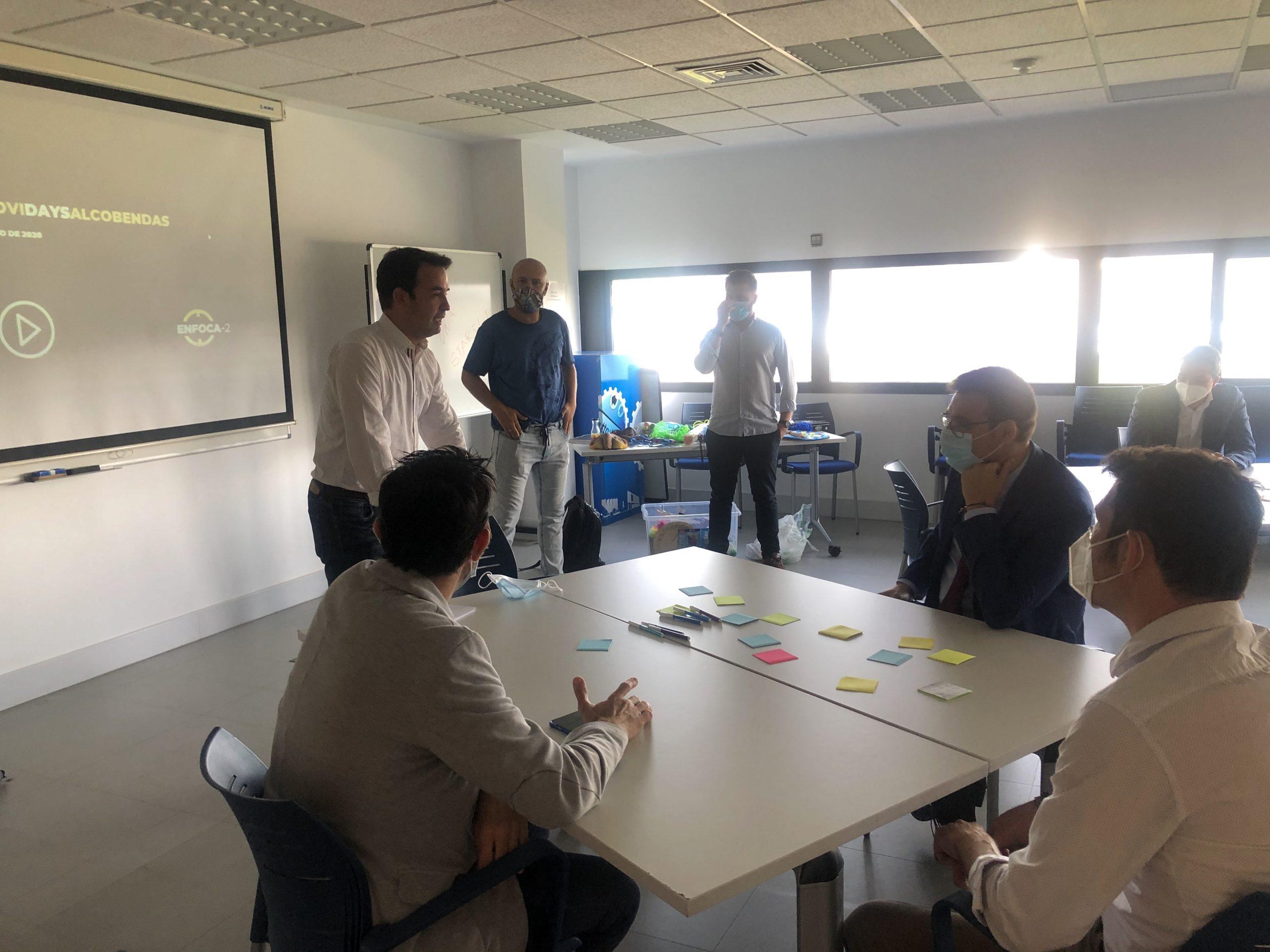 Alcobendas analiza los retos de la movilidad sostenible para desarrollar su nuevo centro de innovación, Digital Innovation HUB