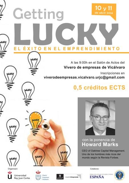El éxito como meta de los emprendedores, en Getting Lucky