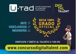 U-tad lanza el concurso «Digital Talent»