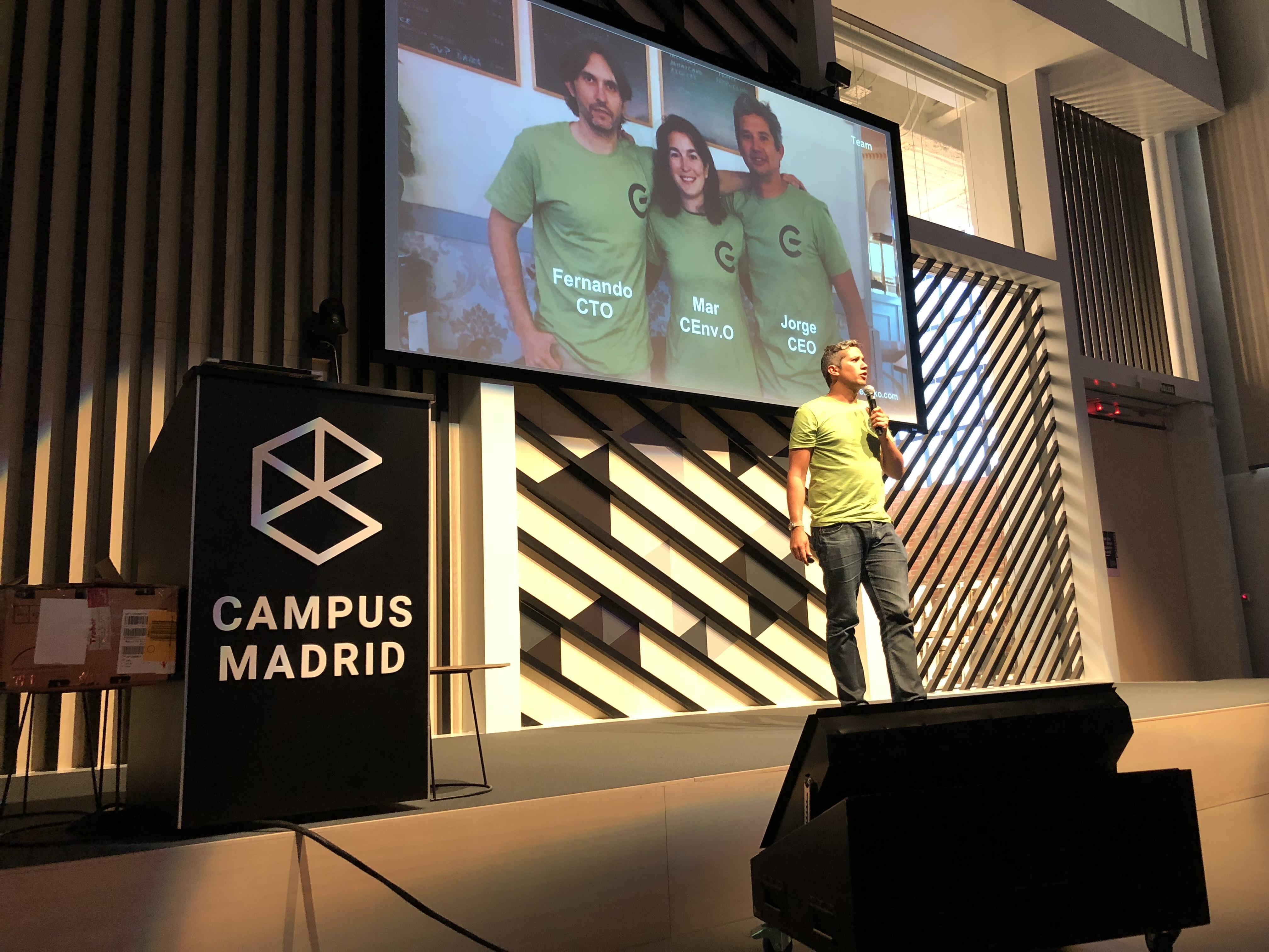 Jorge Portillo: «GreeMko facilita a las empresas el cálculo automático de su impacto ambiental»