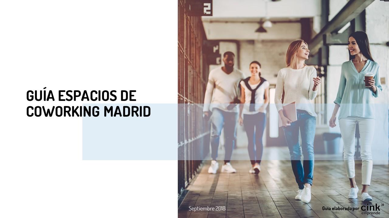 Cink Emprende facilita a los emprendedores la búsqueda de espacios de coworking en Madrid