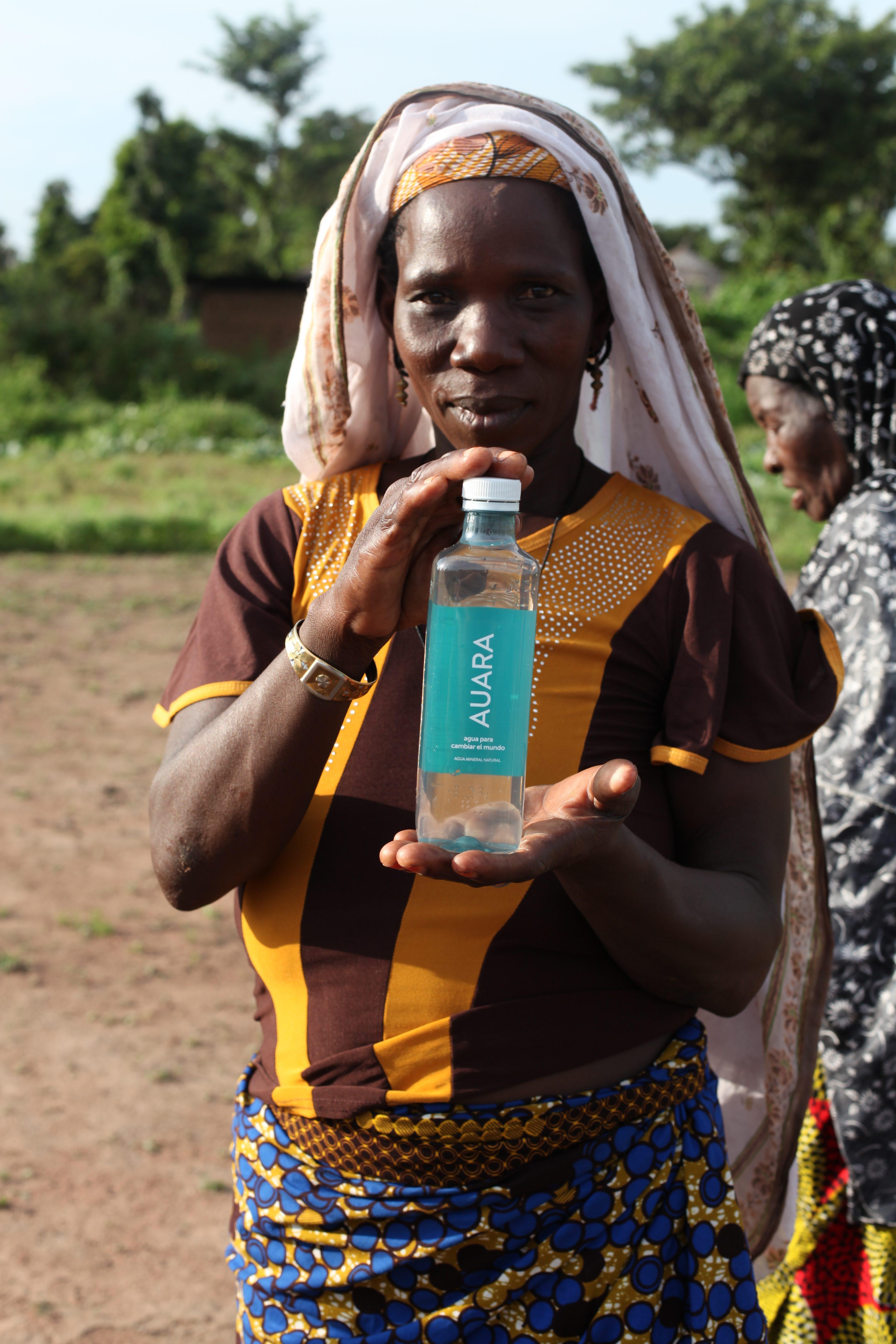 Botella, auara, agua potable